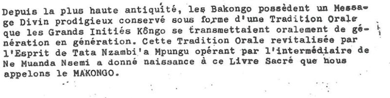 MAKONGO 1