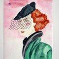 Rouge-Baiser ( les chapeaux )