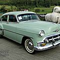 Chevrolet bel air 4door sedan-1953