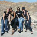 Vallée de feu : Alizée, Rhama, Amandine, Tania
