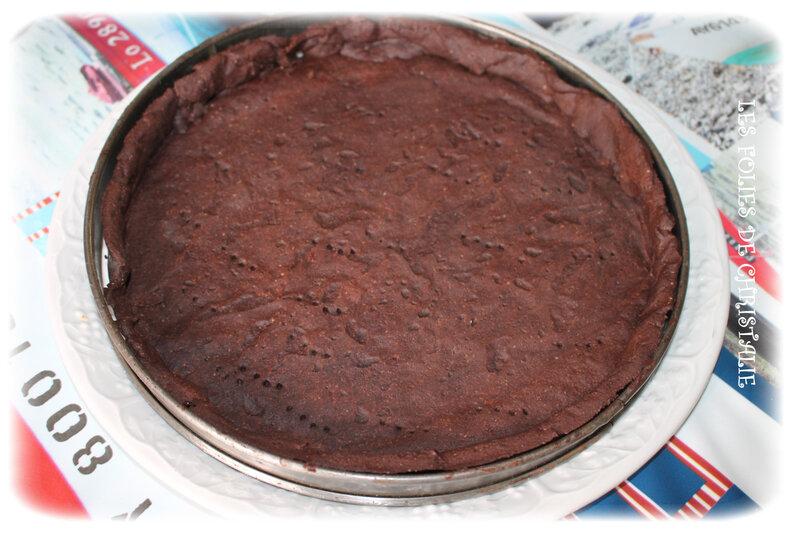 Tarte chocolat cerises 8