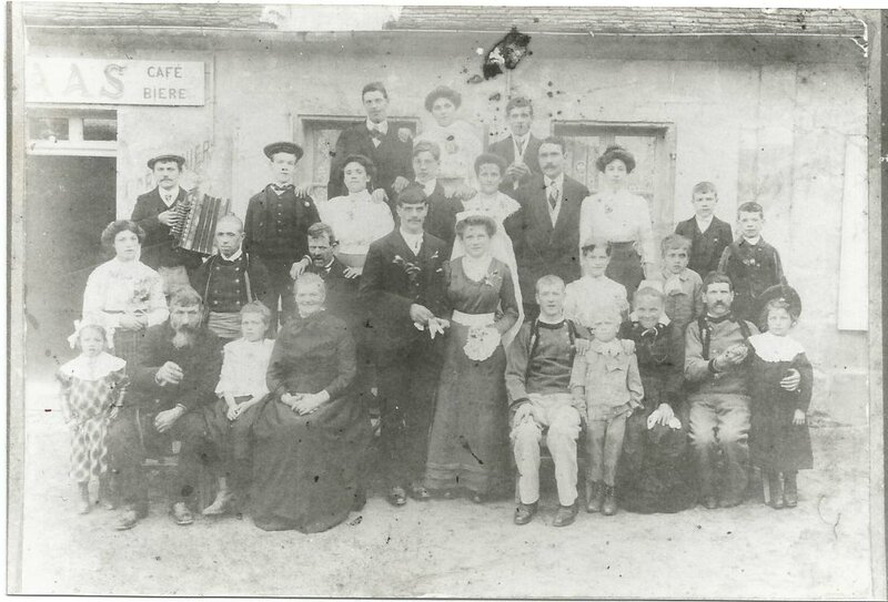 1912 mariage breton a Ourscamp