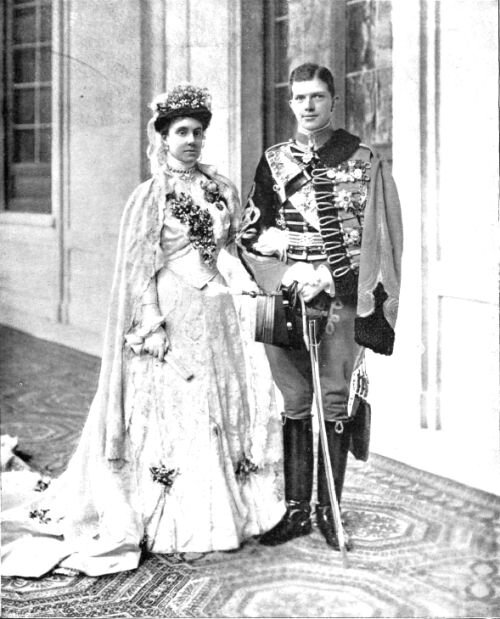 Infanta María de la Paz of Spain on her wedding to Prince Ludwig Ferdinand of Bavaria