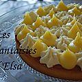 Tarte citron-noix de coco