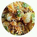 Salade de seiche à la thaïe