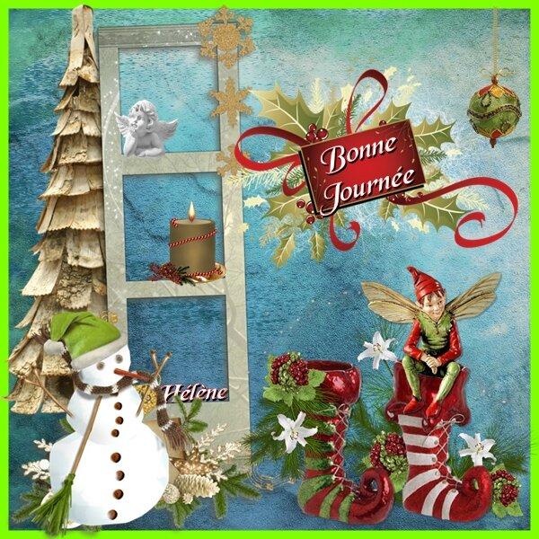 Bonne Journée elfe noel