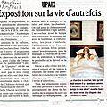 Articles journeaux expo