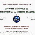 Invitation aux Journées d'entraide ANF 2016