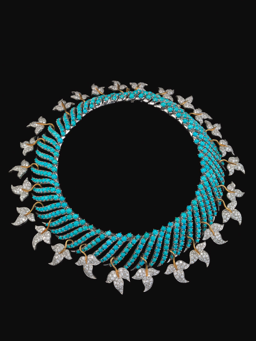f7e6a37a2 ... founded 1853), Leaves necklace, 1956. Turquoise, diamonds, 18-karat  gold, and platinum, Virginia Museum of Fine Arts, Richmond, Collection of  Mrs. Paul ...