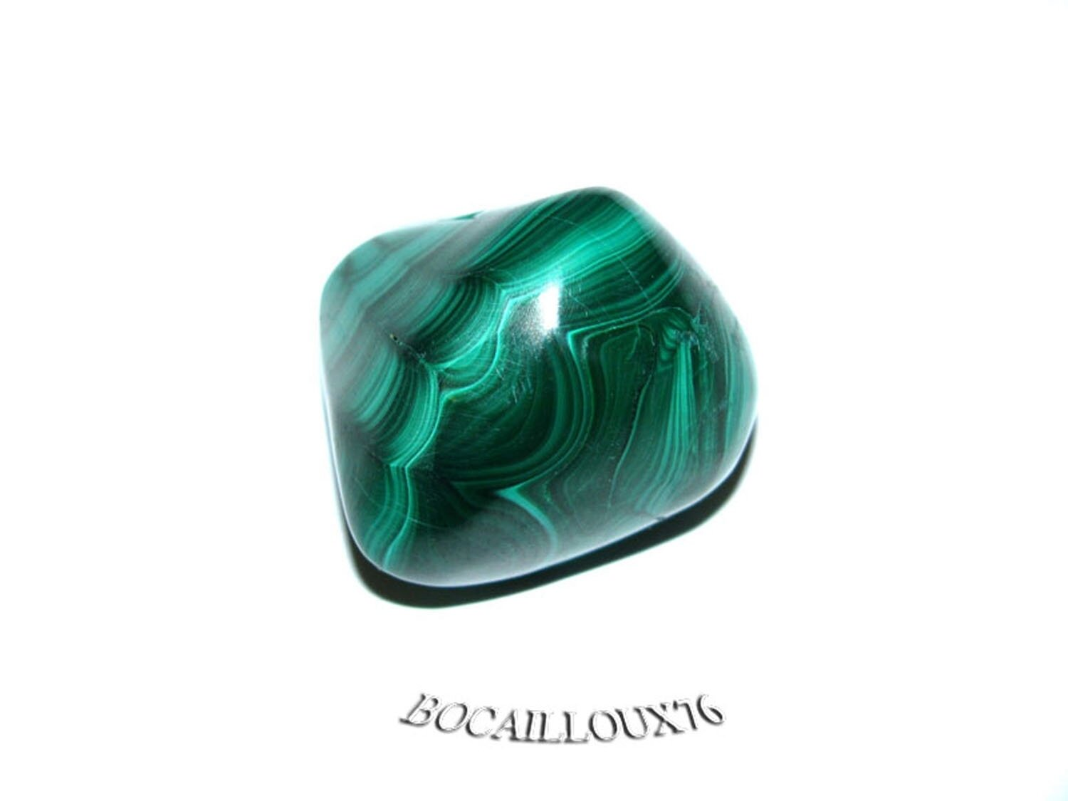 MALACHITE 4 Roulée - Pour CREATION - LITHOTHERAPIE