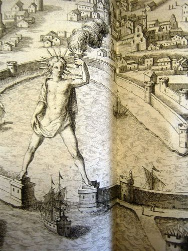 Le colosse de Rhodes XVII°