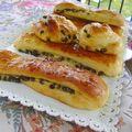Brioches suisses à la crème pâtissière et pépites de chocolat
