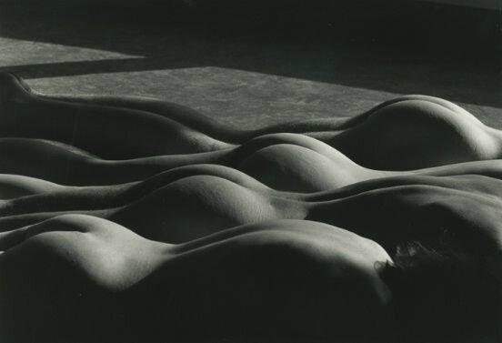 Lucien Clergue Quatre Nus dares La Cite, New School, NYC 1983 Gelatin silver print 11 58 x 15 12 in