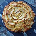 Gâteau fourré aux pommes