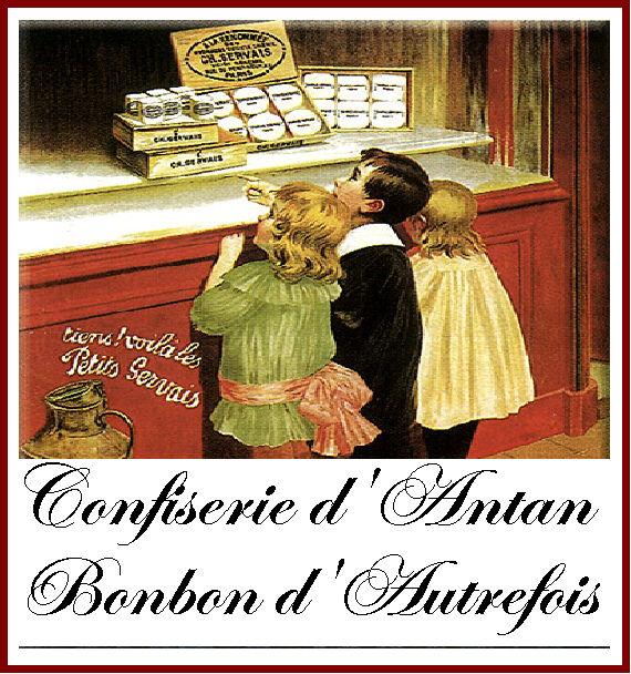 confiserie d'antan bonbons d'autrefois www.coeurdartichaut.com