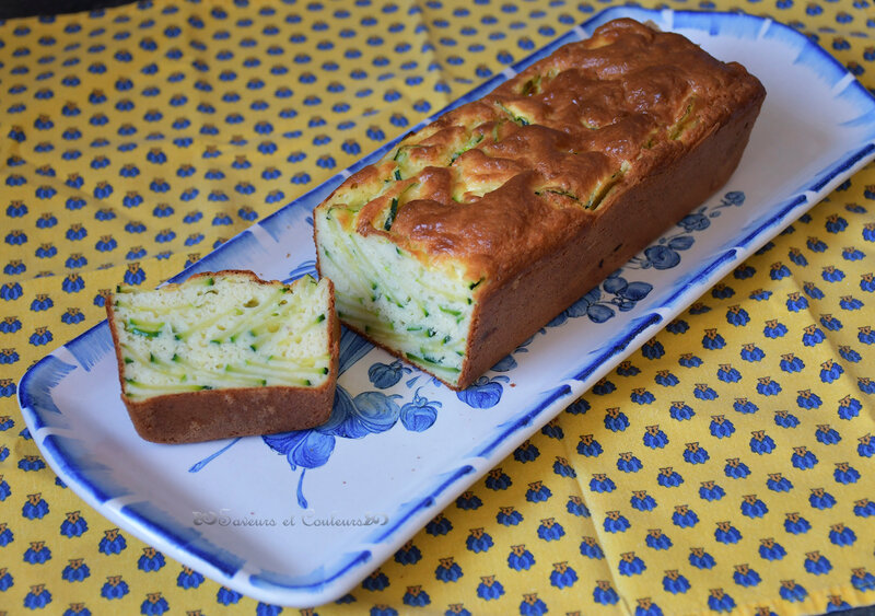 360 Cake courgettes
