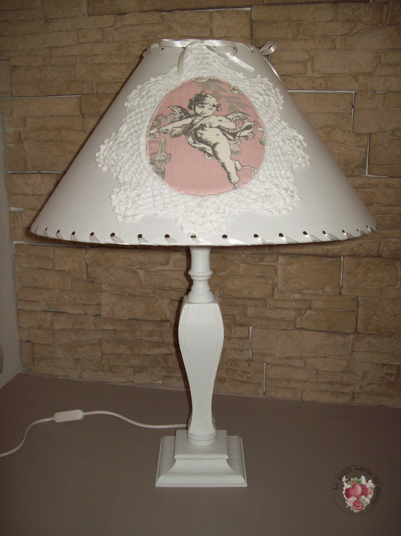 Grande lampe abat-jour