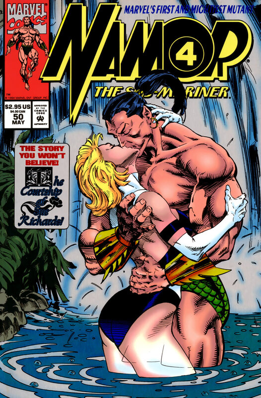 namor the sub-marine 1990 50