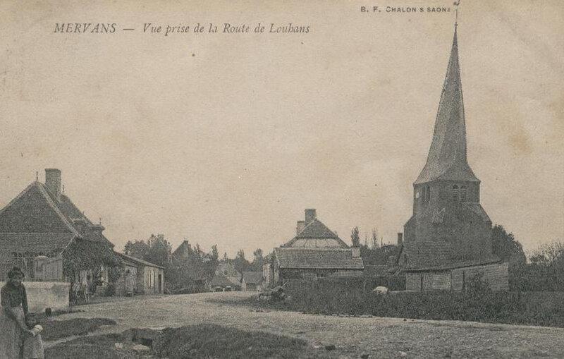 Avril 1902, l'effondrement de l'église de Mervans - Chroniques d'aïeux... de Bresse et d'ailleurs...