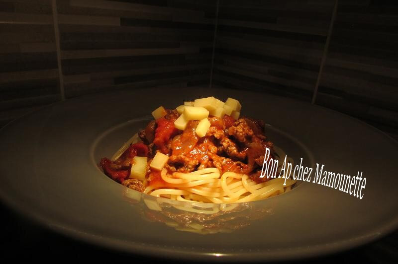 spaghettis bolognaises cookéo 008-