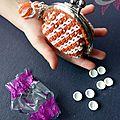 Chouette kit, #crochet : porte-monnaie clic-clac