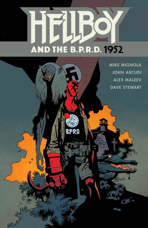 dark horse hellboy and the BPRD 1952 TP