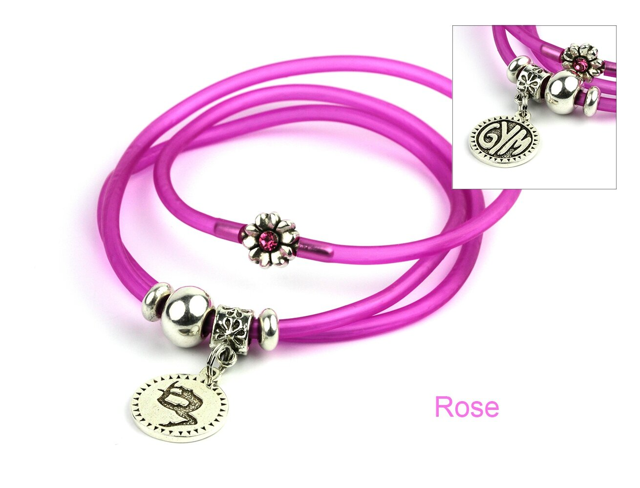 bracelet mia gym rose