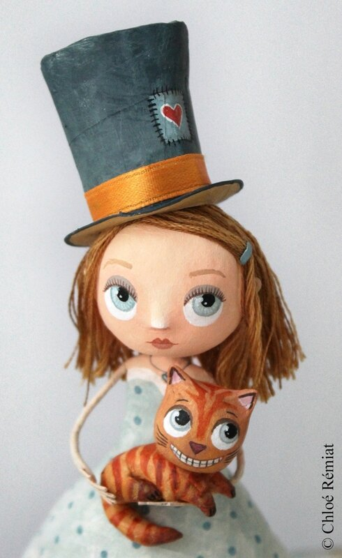 Alice et le chat du cheshire etsy 7