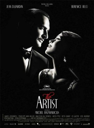 AFFICHE du FILM , THE ARTIST
