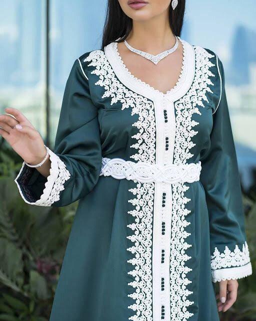 Caftan modern marocain pas cher