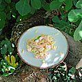 Trio surimi-crevettes-ananas