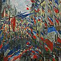 Monet, rue Saint Denis