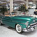 OLDSMOBILE Rocket Ninety Eight 2door convertible 1952 Sinsheim (1)