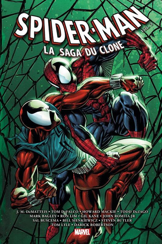 omnibus spiderman la saga du clone 02
