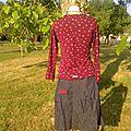 2013-07 ensemble t-shirt + robe portefeuille Blanche Neige par Kim & Lilas (2)