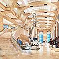 à l'intérieur du siège de la Scientologie à Clearwater en Floride
