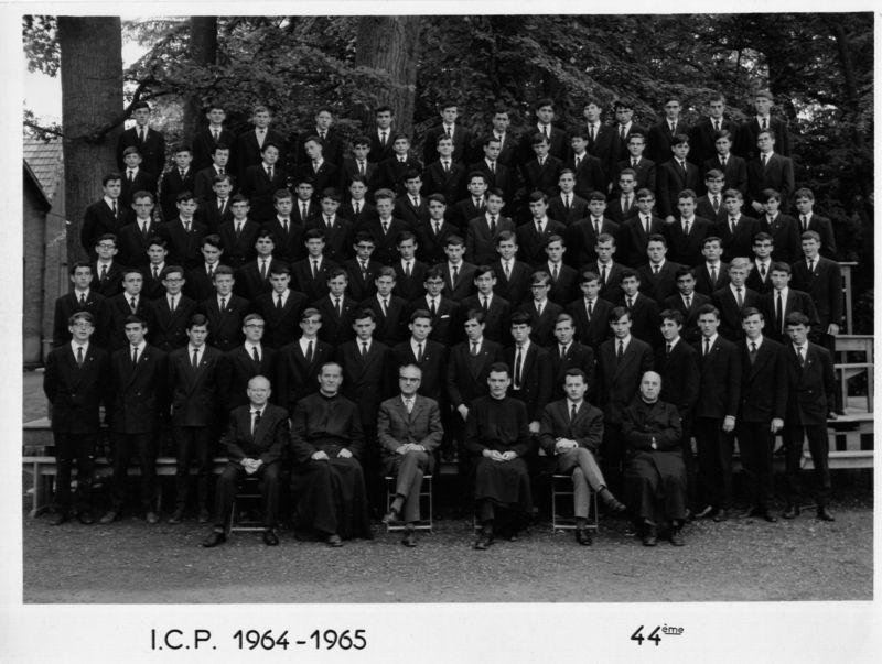 1964-1965 Secondes ICP 44ème