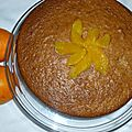 Gâteau noisettes orange