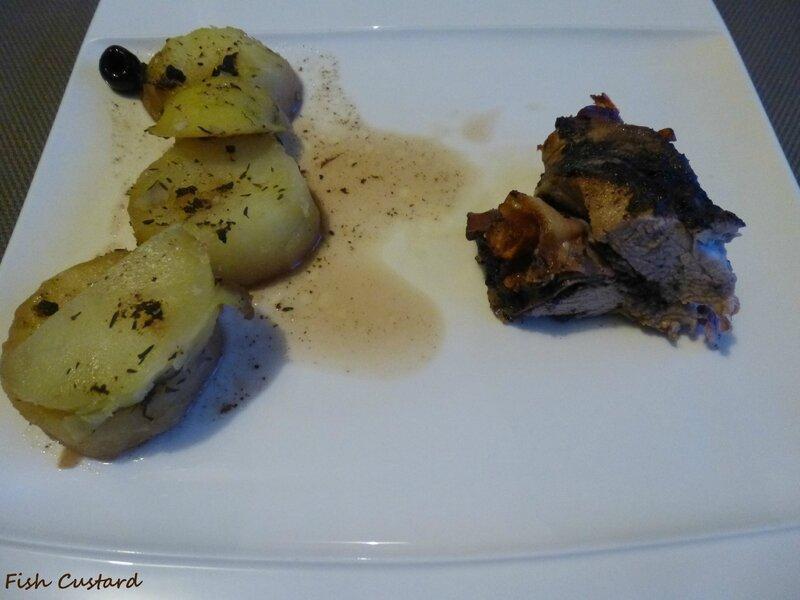 Filet mignon farci à la tapenade d'olives noires et jambon cru fumé (11)