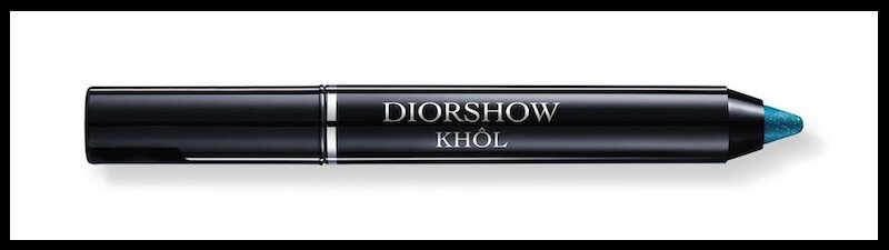 dior khol pearly turquoise
