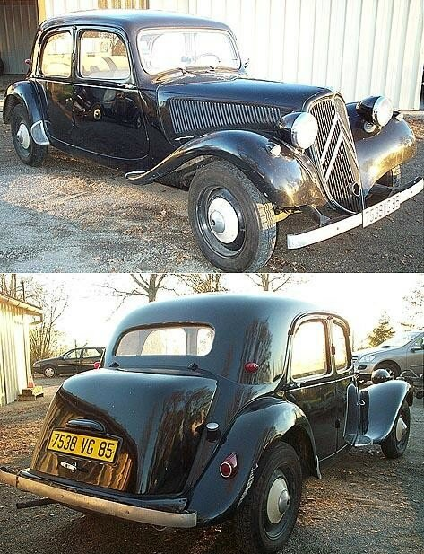 CITROEN - Traction 11 BL - 1953
