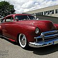 Chevrolet fleetline 2door sedan custom-1950