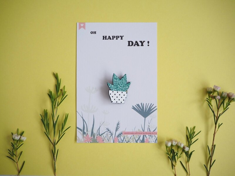 carte happy day palnte