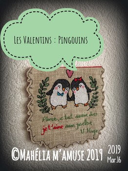 les valentins pingouins