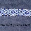 Bracelet bleu Swaro