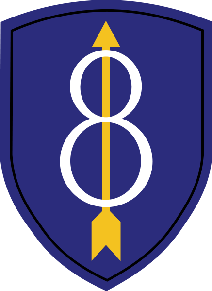 437px-8th_Infantry_Division_patch_svg