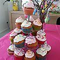 Cupcakes moelleux vanille et crème onctueuse chantilly mascarpone