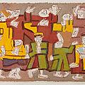 Nguyễn tư nghiêm (1922-2016), danseurs, 1968