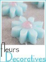 fleurs décoratives en pâte à sucre index