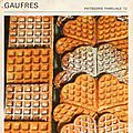 Gaufres (traditionnelles)